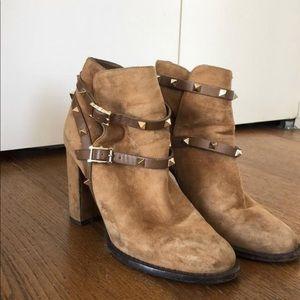 Valentino Rockstud booties